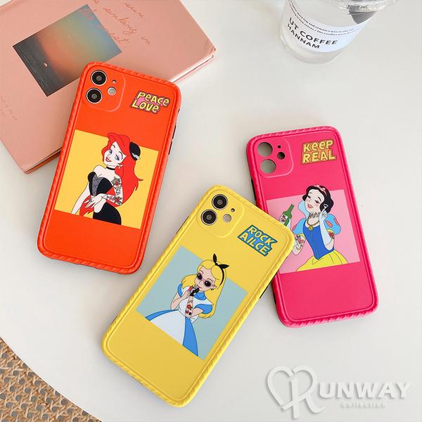 搞怪叛逆 公主系列 創意壞公主 防摔手機殼 iPhone 11 蘋果手機殼 全包邊軟殼 防摔殼
