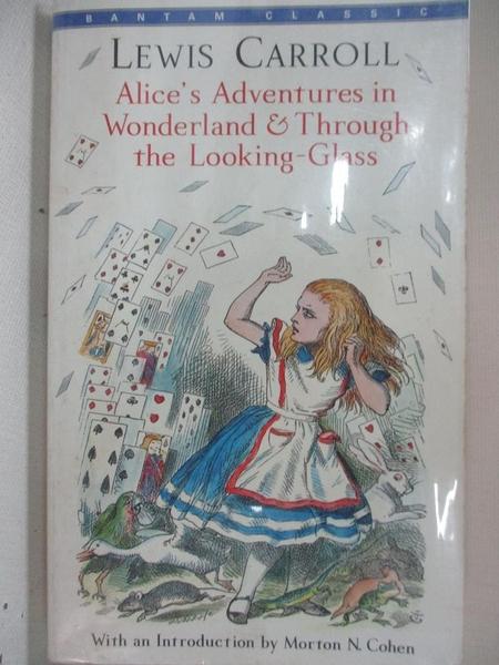 【書寶二手書T1/原文小說_GM8】Alice's Adventures in Wonderland and Through…