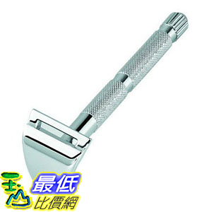 [美國直購] Merkur 90907000 刮鬍刀 修眉刀 Moustache and Eyebrow razor, Chrome-plated, in cardboard box with 1 blade