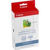 Canon KC-18IS 正方形貼紙 適用CP1300 CP1200 CP910系列印相機