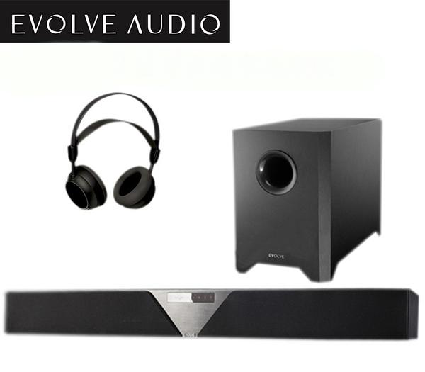 結帳現折$19800  EVOLVE SB-3500 Soundbar 聲霸 無線 藍牙 家庭劇院 180W 無線超低音 送無線耳機