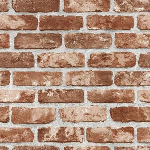 歐NINE壁紙-仿磚塊 咖啡 98702