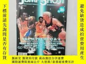 二手書博民逛書店JUMP罕見SHOOT 籃球雜誌--00 86Y14489 出版