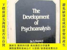 二手書博民逛書店The罕見Development of Psychoanalysis(精神分析學的發展)Y163 Dr.S.F