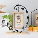 創意相框 創意相框擺臺個性照片框木質六6寸可愛ins現代輕奢小擺件簡約【快速出貨八折鉅惠】