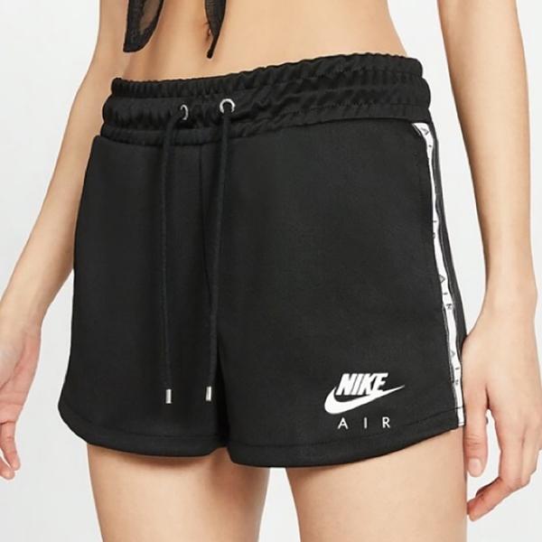 【現貨】NIKE NSW Air 女裝 短褲 慢跑 休閒 串標 輕量 口袋 黑【運動世界】CJ3135-010