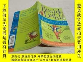 二手書博民逛書店Roald罕見Dahl Fantastic Mr Fox《羅爾德·達爾神奇狐貍先生》Y212829