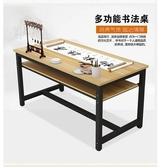 桌辦公桌轉角書桌老板桌板式大班台總裁經理主管現代簡約台式電腦桌 JD CY潮流