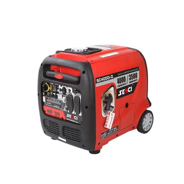 [ 家事達 ] Senci - SC4000i-O 山葉引擎 靜音變頻發電機-4000W 特價 110V