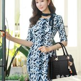 手提包女士包包2018新款時尚韓版女大氣斜挎單肩包女包 XW4262【潘小丫女鞋】