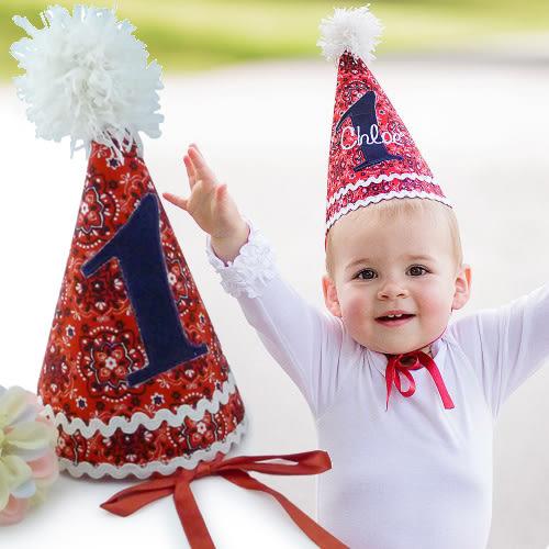 周歲禮 / 童帽 / 寶貝一歲生日帽 - 美國RuffleButts  RuggedButts