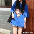 衣服女夏2019新款夏裝ins超火的韓風chic上衣寬鬆原宿t恤女嘻哈bf  圖拉斯3C百貨