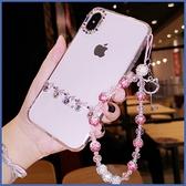 蘋果 iPhone12 12mini 12Pro Max iPhone11 SE2 XS IX XR i8+ i7 i6 蝴蝶結水滴鑽殼 手機殼 水鑽殼 訂製