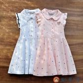 女童連身裙兒童純棉裙子夏季寶寶女孩公主裙洋氣童裝