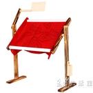 木制仿古十字繡架子 實木小號十字繡架 可調節高度台式繡花架子 WD 小時光生活館