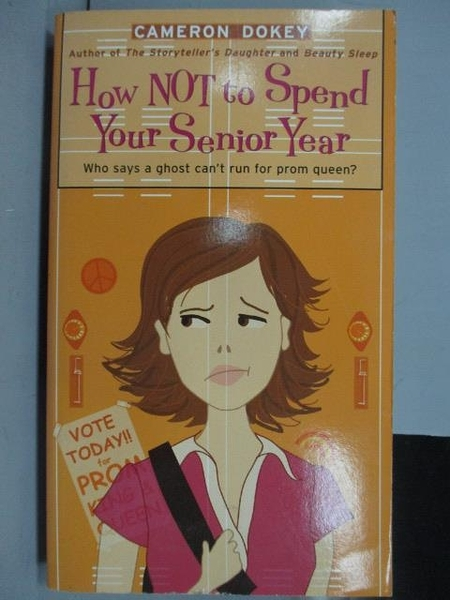 【書寶二手書T2/原文小說_IBR】How Not to Spend Your Senior Year