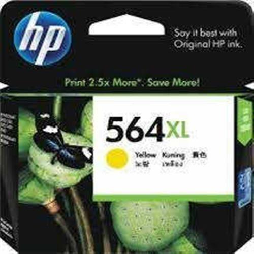 HP 564XL 黃色高印量墨水匣 (CB325WA)