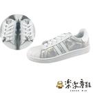 【樂樂童鞋】台灣製冰雪奇緣2親子休閒鞋-媽媽款白色 F065-1 - 親子鞋 休閒鞋 布鞋 女童鞋 大童鞋