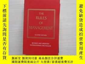 二手書博民逛書店The罕見Rules of Management 076Y109