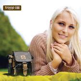 【TROOP】傳統簡約HERITAGE單肩包/TRP0451BKP(亮黑色)