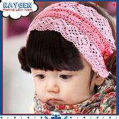 寶寶假劉海髮帶嬰兒女童髮飾寶寶髮箍頭飾假髮髮片