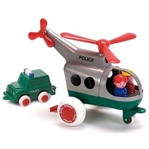 【瑞典VIKINGTOYS】26cm警用直升機