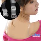 內衣透明隱形肩帶 塑膠勾環 透明 水晶 肩帶可調整 15MM 小可愛背心防走光 米荻創意精品館