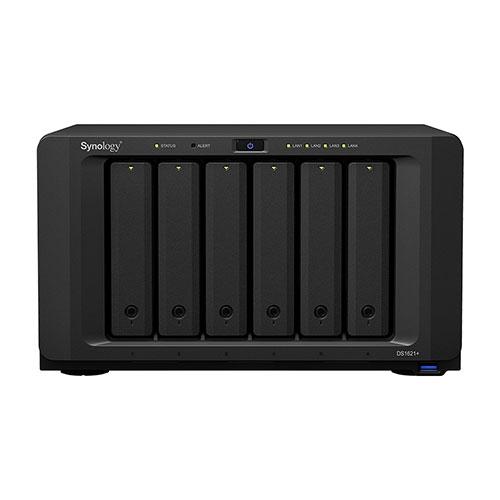 Synology 群暉科技 DiskStation DS1621+ 6Bay NAS 網路儲存伺服器 四核心 4GB