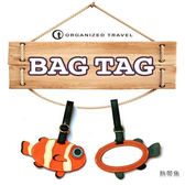 OT可愛動物造型行李吊牌 - 尼莫熱帶魚