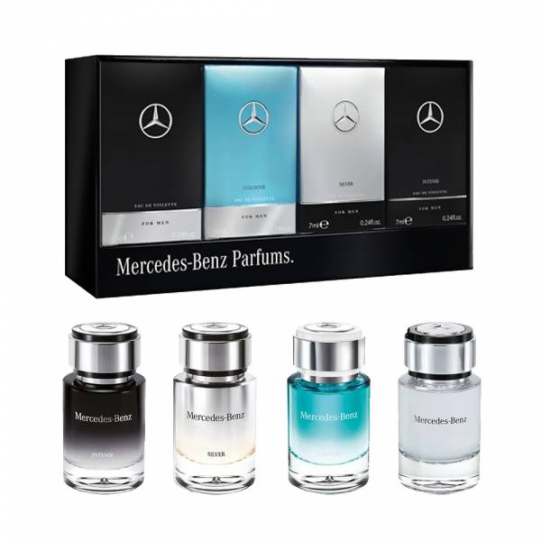 Mercedes Benz 賓士 男性淡香水禮盒 4x7ml【UR8D】