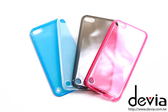 【愛瘋潮】Devia Apple iPod touch 5 透明水晶 TPU 軟套 保護套