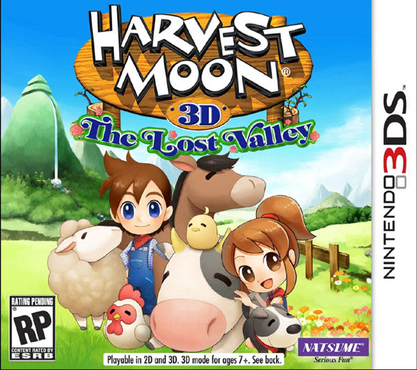 3DS Harvest Moon: The Lost Valley 牧場物語 連結新天地(美版代購)