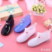 兒童雨鞋男童女童寶寶雨靴防滑公主可愛小學生水靴小孩防水鞋膠鞋 ys3440『伊人雅舍』
