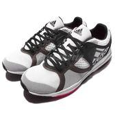 【六折特賣】adidas 訓練鞋 Crazymove CF W 白黑 桃紅 白 黑 透氣穩定 運動鞋 女鞋【PUMP306】 AQ2638