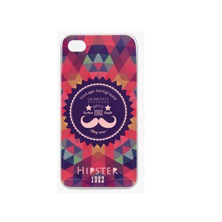 ♥ 俏魔女美人館 ♥ {時尚鬍子*水晶硬殼} Iphone 4 / 4S 手機殼 手機套 保護殼 保護套