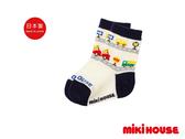 MIKI HOUSE 日本製 普奇熊小汽車兒童襪