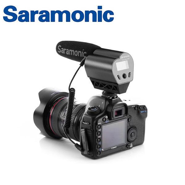 ◎相機專家◎ Saramonic 超指向性電容式麥克風 Vmic Recorder 廣播級 監聽 獨立錄音 公司貨