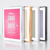 相框 窄邊鋁合金證書畫框 細框廣告相框無邊海報框架 照片框架掛牆定做 享購ATF