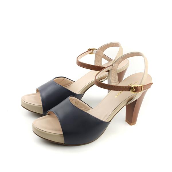 HUMAN PEACE 涼鞋 深藍色 女鞋 no254