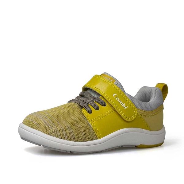康貝 Combi NICEWALK 醫學級成長機能鞋-黃
