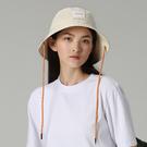 【ISW】雙色梭織大檐帽-淺米色 (兩色可選) 設計師品牌