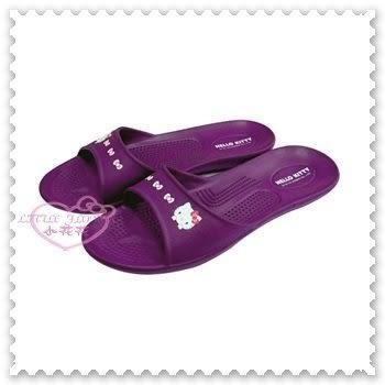 小花花日本精品♥Hello Kitty 拖鞋 按摩拖鞋 超輕量 環保 室內拖鞋 止滑拖鞋 紫色蝴蝶結 79009300