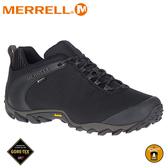 【 MERRELL 美國 男 CHAMELEON 8 STORM GORE-TEX休閒鞋《黑色》】ML033103/健行
