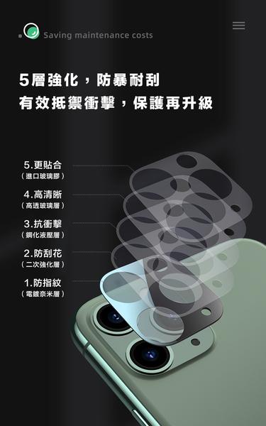 Benks iPhone 11 Pro Pro Max 全玻璃鏡頭貼 (兩片裝) 鏡頭貼 鏡頭保護膜 鋼化玻璃