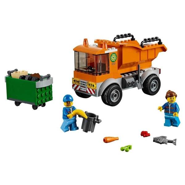 LEGO 樂高 CITY 城市系列 Garbage Truck 垃圾車 60220