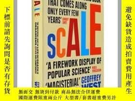 二手書博民逛書店英文原版規模:複雜世罕見界的簡單法則Scale 傑弗裏·韋斯特G