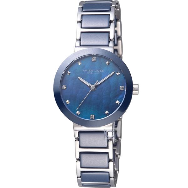 Aries Gold雅力士魅惑系列PERSIA時尚陶瓷腕錶   L5006Z S-BUMP