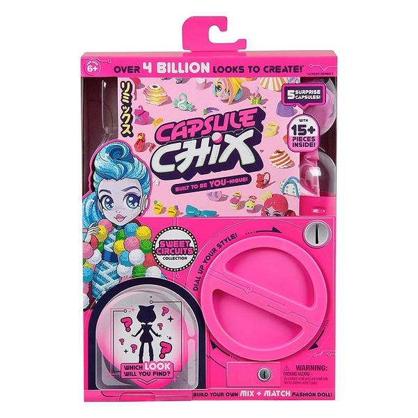《 Capsule Chix 》甜美風單入組 ╭★ JOYBUS玩具百貨
