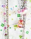 【震撼精品百貨】Hello Kitty 凱蒂貓~鐵鍊手機掛繩-紅衝浪