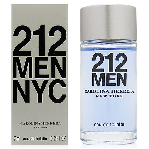 CAROLINA HERRERA 212 MEN都會男性淡香水7ml [QEM-girl]